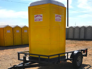 temporary toilets construction site