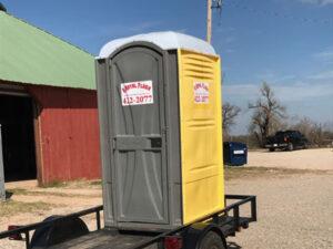 portable toilet construction