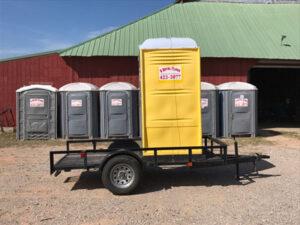 construction site toilets